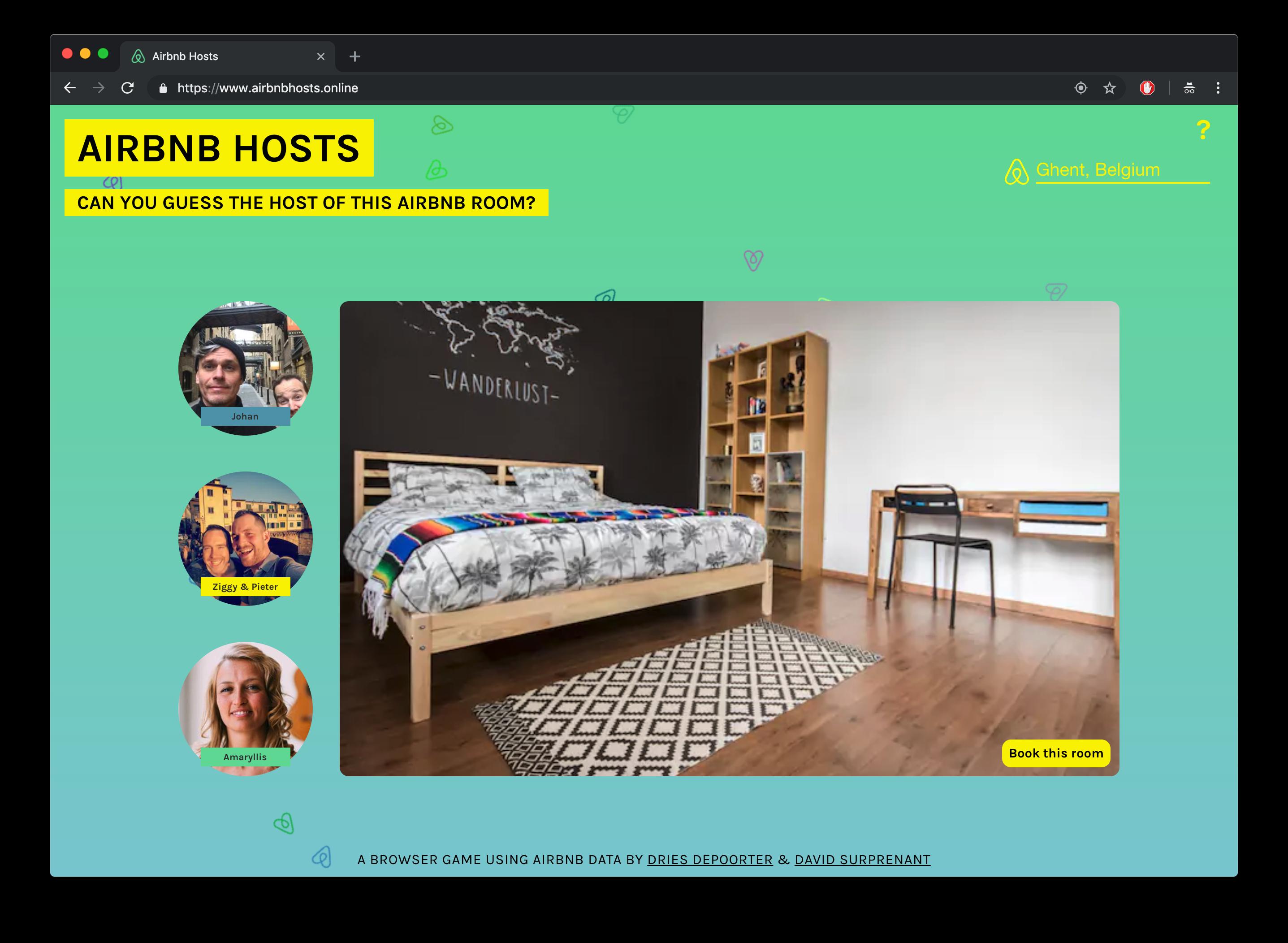 Airbnb Hosts – Dries Depoorter